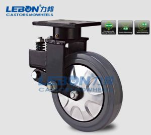 "6""8""PU Swivel Absorber Industrial Caster"