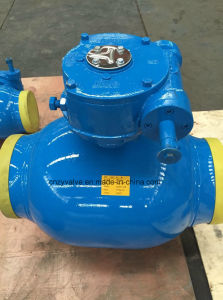 "JIS 10k Dn150 6"" Fully Welded Ball Valve (Q374F-DN150-10K) pictures & photos"