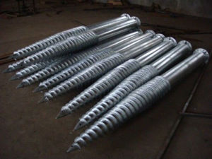 Galvanized Multiblade Ground Screws pictures & photos