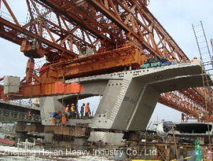 240t-40m Separate Concrete Parts of Bridge Launching Gantry Crane (JQ-03) pictures & photos