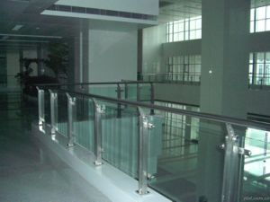 10-12mm Toughened + Laminated Glass for Balustrade / Fencing pictures & photos
