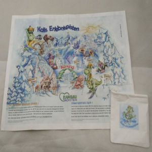Promotional Children Tyvek Paper Map pictures & photos