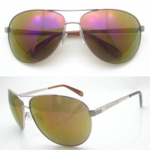 High Quality Metal Sunglasses with Polarized Revo pictures & photos