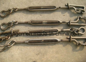 JIS Forged Turnbuckle with Eye Hook Stud Lashing Hook pictures & photos