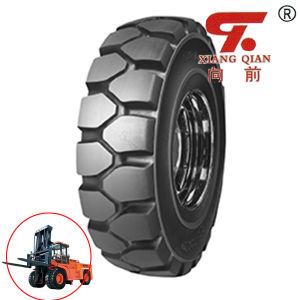 Good Quality Bias Industrial Forklift Tires pictures & photos