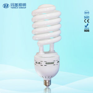 105W Half Spiral 8000h Good Quality 2700k-7500k E27/B22 220-240V Energy Saving Lamps Down Price pictures & photos