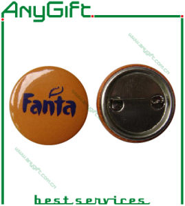 Metal Button Badge with Customized Shape and Logo (LAG-MP-27) pictures & photos