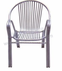 Metal Outdoor Garden Coffee Stainless Dining Chair (JJ-AK02)