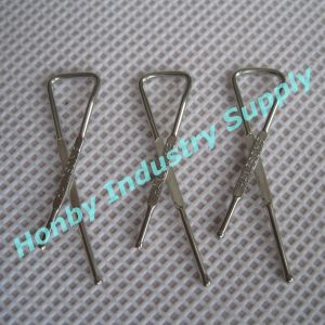 Handsome Brass Metal Clips for Garment Packing (DZ30508E)