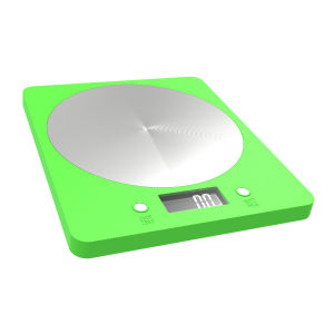 White Backlight 5kg Digital Weighing Kitchen Scale (EK839Green) pictures & photos