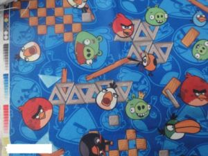 Pig Cartoon Printing Polyester 600d Fabric for Bags! pictures & photos