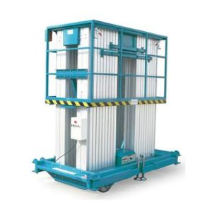Double Mast Alloy Aluminum Hydraulic Work Platform pictures & photos