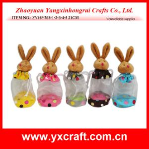 Easter Decoration (ZY16Y768-1-2-3-4-5) Easter Rabbit Pouch Bag Gift Bag Item Design pictures & photos