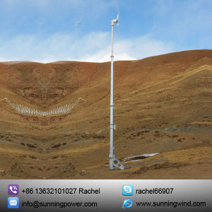 Renewable Energy Hybrid Solar Wind Power Generation System by The Use of Turbines.