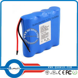Super 3.7V 13600mAh Li Ion Battery 18650 Pack pictures & photos
