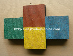 Safety Rubber Tile (A-DL-05) pictures & photos