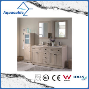 Plywood Vanity with Mirror Cabinet and Side Cabinet (ACF8907) pictures & photos
