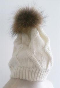 Natural Fur Hat Hat Hat Es1503-24 pictures & photos