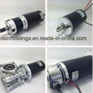 High Torque Permanent Magnet Brushed DC Motor 12V, 24V, 36V, 40V, 48V, 60V Power pictures & photos