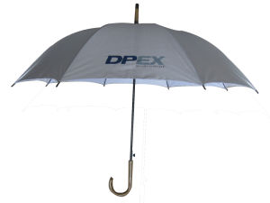 23inch UV-Anti Straight Advertising Umbrella (AU011) pictures & photos