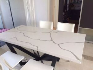 Quartz Slab for Countertop and Table Top pictures & photos
