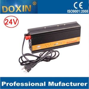 24VDC to AC220V 300W UPS Power Inverter with Battery Charger pictures & photos