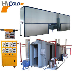 Automatic Powder Coating Line with Auto Control System pictures & photos