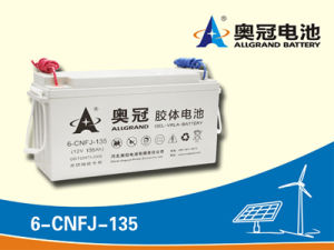 12V135ah Sealed Lead Acid Battery for Solar Energy