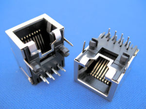 SMT SMD RJ45 Connector pictures & photos
