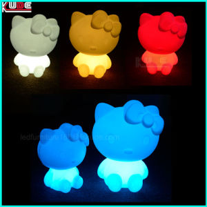 Christmas Gift Decoration Children Girls Table Kitty Lamp Gift pictures & photos