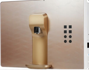 50gpd RO Water Purifier with Hot Water and Finger Touch Screen pictures & photos
