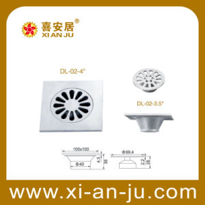 Stainless Steel Floor Drain (DL-02-4)