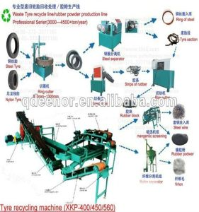 Crumb Rubber Devulcanizing Equipment/Waste Tire Recycling Equipment pictures & photos