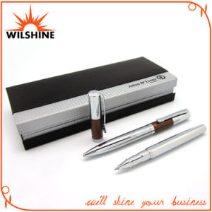 Fantastic Shiny Chrome Metal Pen Set for Business Gift (BP0057) pictures & photos