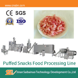 Corn Curls Twin Screw Extruder pictures & photos