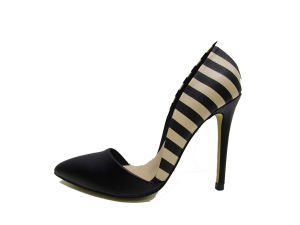 New Fashion Women High Heel Lady Dress Shoes for Party pictures & photos