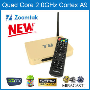 Quad Core Android Smart TV Box for Kodi pictures & photos