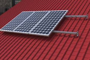 Solar Tile Roof Mounting System