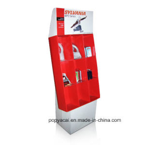MP3 Retail Corrugated Display Rack/Power Wing Display Units pictures & photos
