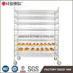 NSF Adjustable Heavy Duty 500lbs Commercial Metal Wire Bread Rack pictures & photos