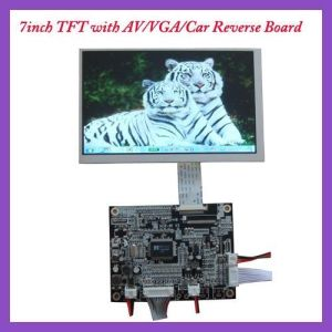 Rg070tn83V. 1 7inch TFT LCD Screen with Driver Board pictures & photos