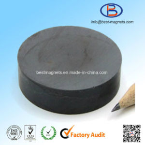 D50X10 Y30bh High Quality Disc Shape Anisotropic Ferrite Magnet pictures & photos