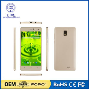 5.5 Inch Mtk6580 Quad-Core 720X1280 IPS Android 5.1 3G Smartphone