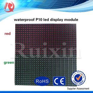 Outdoor Scrolling Text Display Panel P10 LED Display Module Moving Message LED Sign/LED Screen pictures & photos