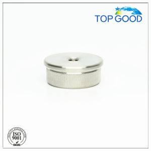 Stainless Steel Flat Solid End Cap with Thread (60100. M8) pictures & photos