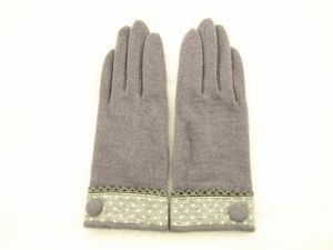 Lady Fashion Wool Gloves (JYG-25052) pictures & photos