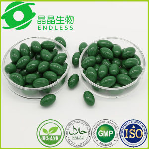 Pure and Natural 100% Green Spirulina Softgel Capsule pictures & photos