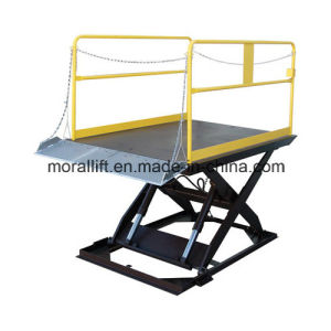 Hydraulic Scissor Type Dock Lift with CE pictures & photos
