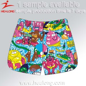 Healong Top Brand Designer Dye Sublimation Beach Shorts pictures & photos