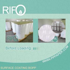Thermal Sensitive Surface Coating BOPP with FDA BPA Free Certification pictures & photos